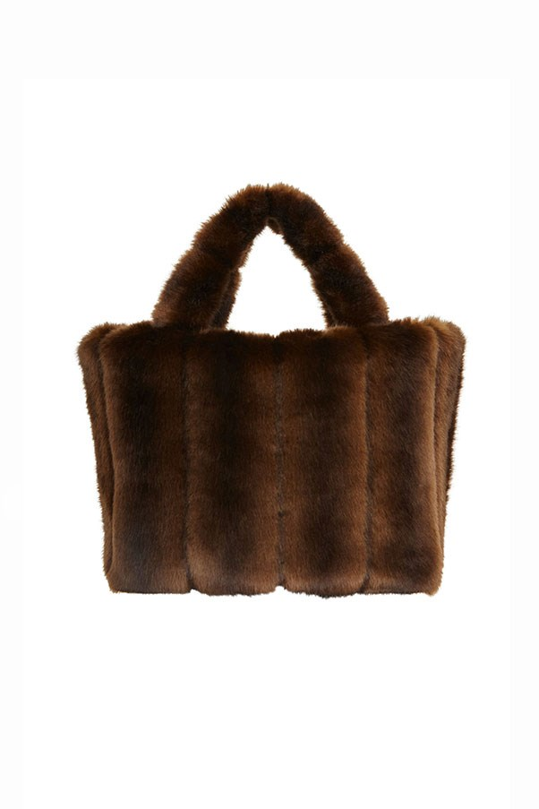 """Bag by Staud, approx. $285 at <a href=""""https://staud.clothing/product/2381"""">Staud Clothing</a>"""
