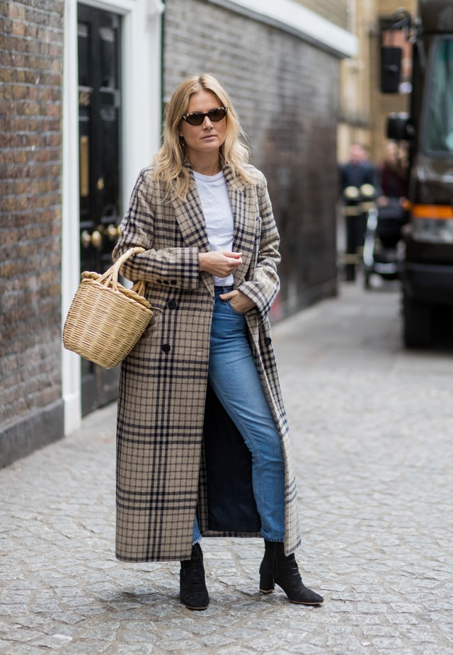 <p><em>Plaid</em><p> Thanks to the likes of Stella McCartney, Balenciaga and more, plaid—especially in light browns, olives and greys—is experiencing something of an upswing.