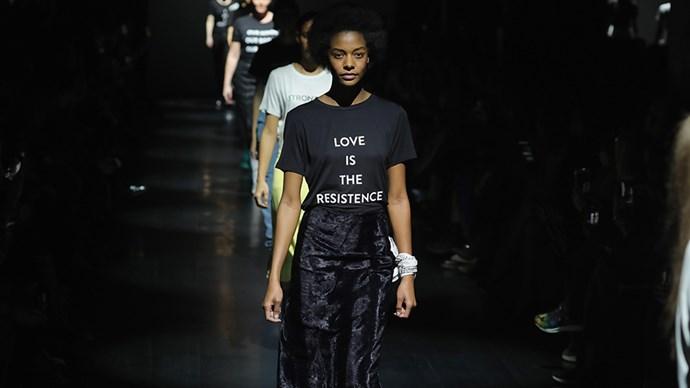 Fashion designers on muslim ban politics