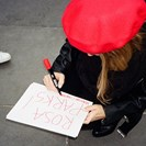 See Phoebe Tonkin's Photo Diary From Paris Women's Rights Rally image