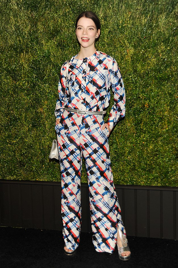The actress wore this Chanel look to a recent dinner.