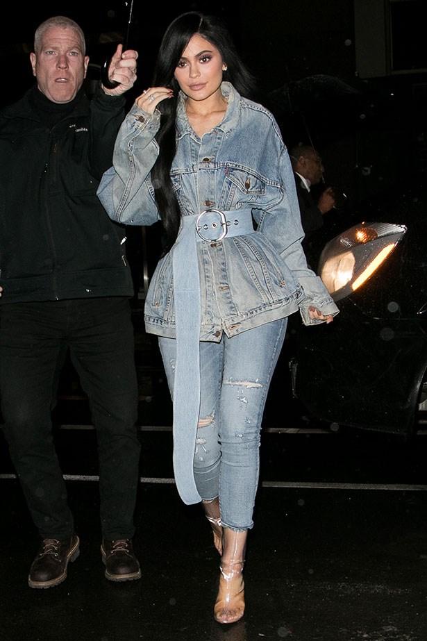 Kylie Jenner, New York fashion week A/W '17