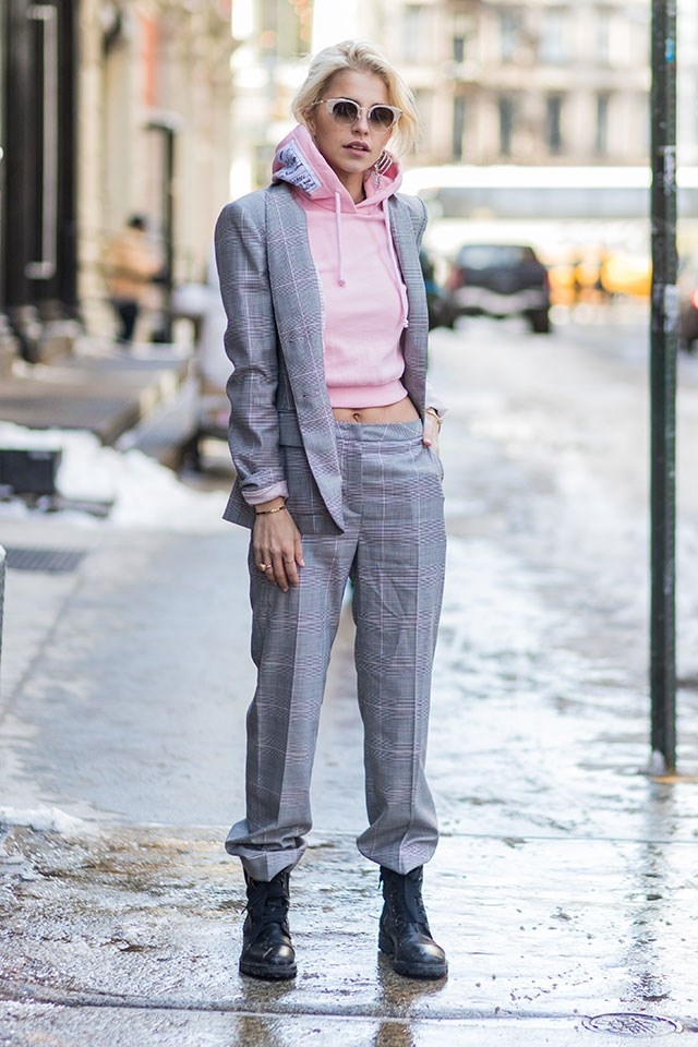 2. Layer Underneath More Sensible, Tailored Pieces To Elevate Your Look