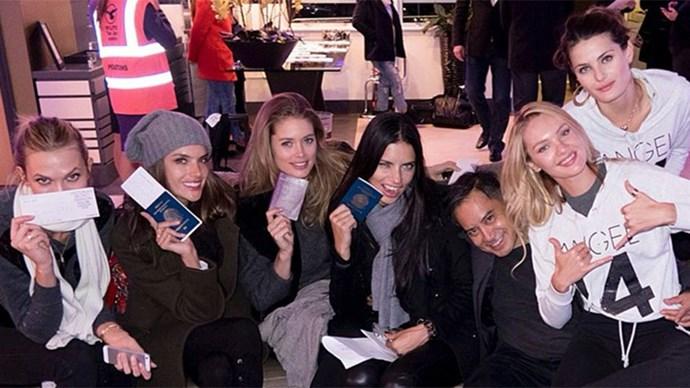 Victoria's Secret Angels in London