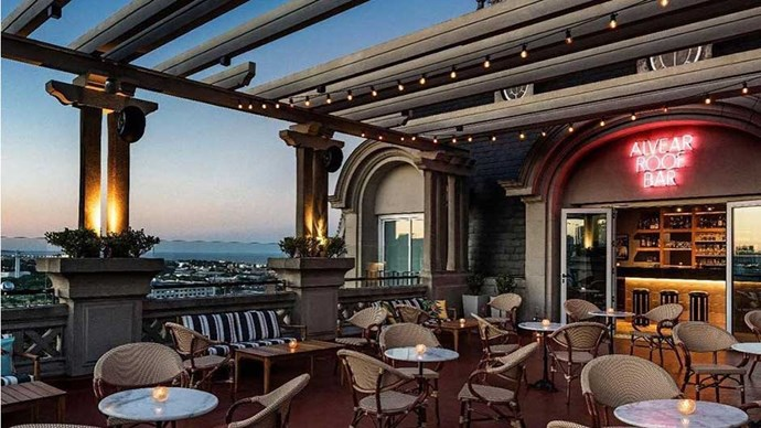 """<strong>ARGENTINA:</strong> <a href=""""http://www.booking.com/hotel/ar/alvear-palace.en-gb.html""""><strong>Alvear Palace Hotel</strong></a> So you can experience downtown Buenos Aires, but also get your historical and architectural fill. Did we mention the killer view from the rooftop bar?"""