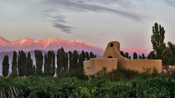 """<a href=""""http://www.booking.com/hotel/ar/cavas-wine-lodge.en-gb.html""""><strong>Cavas Wine Lodge</strong></a> Because watching the sun set over the Andes with a glass of wine in hand should be on everyone's bucket list."""
