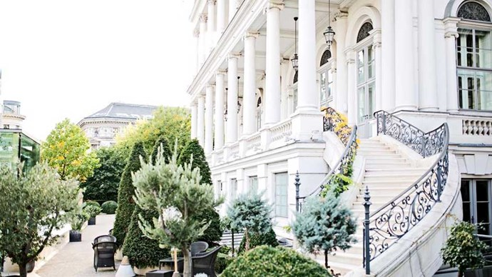 """<strong>AUSTRIA:</strong> <a href=""""http://www.booking.com/hotel/at/palais-coburg-residenz-gmbh.html""""><strong>Palais Coburg Residenz</strong></a> Yes, you should splurge and put yourself up in a Viennese palace (this one just so happens to boast the best wine list in Europe)."""