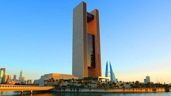 """<strong>BAHRAIN:</strong> <a href=""""http://www.booking.com/hotel/bh/four-seasons-bahrain.en-gb.html?aid=356987;label=gog235jc-hotel-XX-bh-fourNseasonsNbahrain-unspec-au-com-L%3Aen-O%3AosSx-B%3Achrome-N%3AXX-S%3Abo-U%3AXX;sid=fcb6a8f9d6e474b18df809032f7d34a8;dist=0&group_adults=2&sb_price_type=total&type=total&""""><strong>Four Seasons Hotel Bahrain Bay</strong></a> As if that impressive architecture isn't reason enough to stay here, this hotel literally has its own private island! Poolside Evian Spritzes are on offer, as well THREE restaurants by world-renowned chef Wolfgang Puck."""