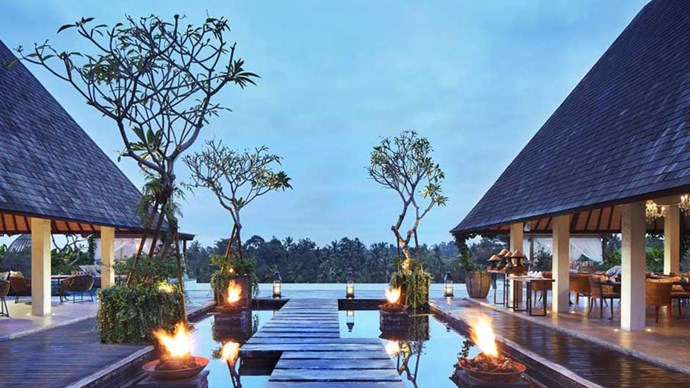 """<a href=""""http://www.booking.com/hotel/id/goya-boutique-resort.html""""><strong>Goya Boutique Resort</strong></a> Don't take <em>Eat, Pray Love's</em> word for it, experience the region of Ubud for yourself and stay at this resort nestled in the Balinese jungle. The views of the lush surrounds from the pool are so flawing, you'd sooner turn into a prune than take your eyes off them.  Do make sure to book yourself your own villa to truly understand the expression 'solitude is bliss'"""