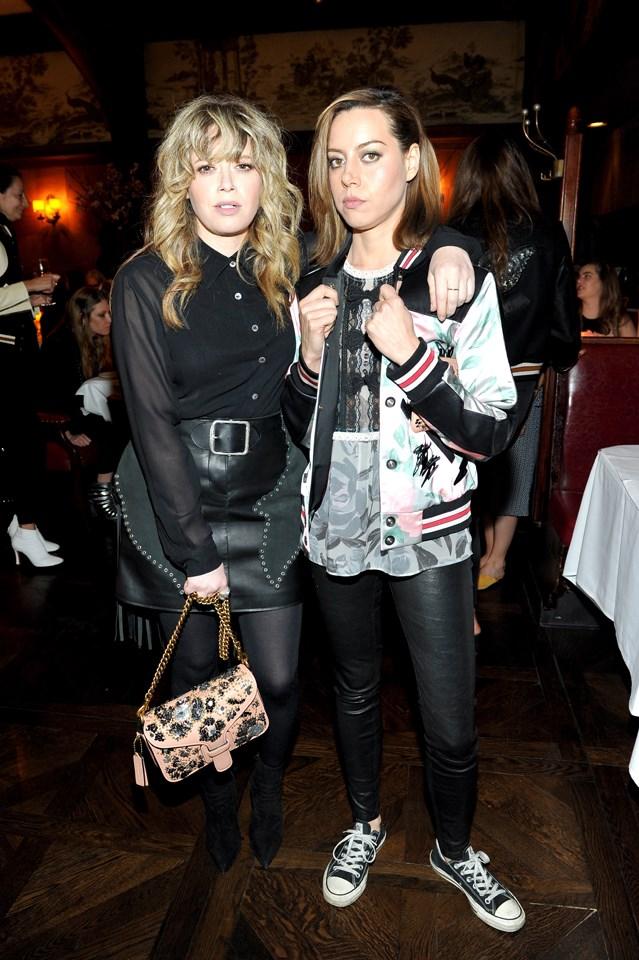 Natasha Lyonne and Aubrey Plaza