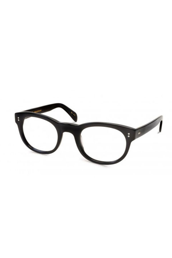 """<strong>10. Nerd Glasses</strong> <p><p> Finally, you can't think about Lyons without her signature frames. These aren't actually produced by J. Crew, but Lyons made old-school thick black-framed glasses her signature. After seeing her wear them, we all dabbled with these acetate frames whether we had poor vision or not. <p><p> Moscot Mensch Eyeglasses, $342 AUD; <a href=""""http://moscot.com/shop/mensch"""">moscot.com</a>"""