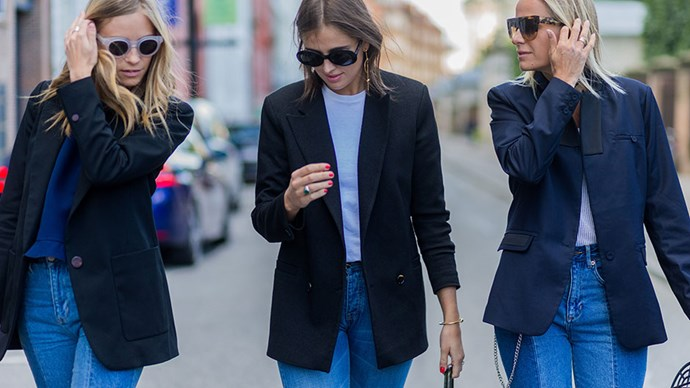 <em>ELLE</em> rounds-up seven ways to revamp your existing wardrobe to make the ol' faithful jeans and shirt combination feel fresh again.