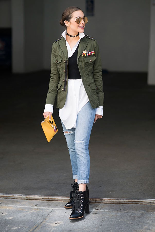 <p><strong>1. Get clever with layering</strong> <p>Olivia Culpo