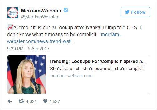Every Time The Merriam-Webster Dictionary Trolled Trump And His Administration On Twitter | ELLE