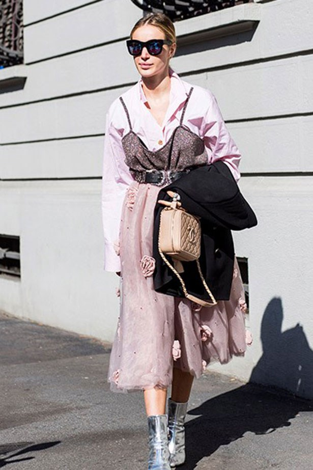 <strong>2. The Tulle Dress</strong> <br></br> Layer a pastel shirt underneath your whimsical number and finish with a chunky belt for 9-5 vibes.