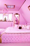 AirBnb pink house
