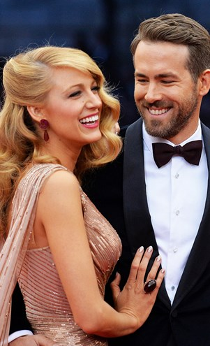 Blake Lively and Ryan Reynolds.