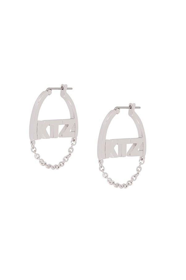 "Earrings by KTZ, $143 at <a href=""https://www.farfetch.com/au/shopping/women/ktz-small-chain-earrings--item-11876039.aspx?storeid=10219&from=listing&ffref=lp_pic_251_7_"">Farfetch.com</a>"