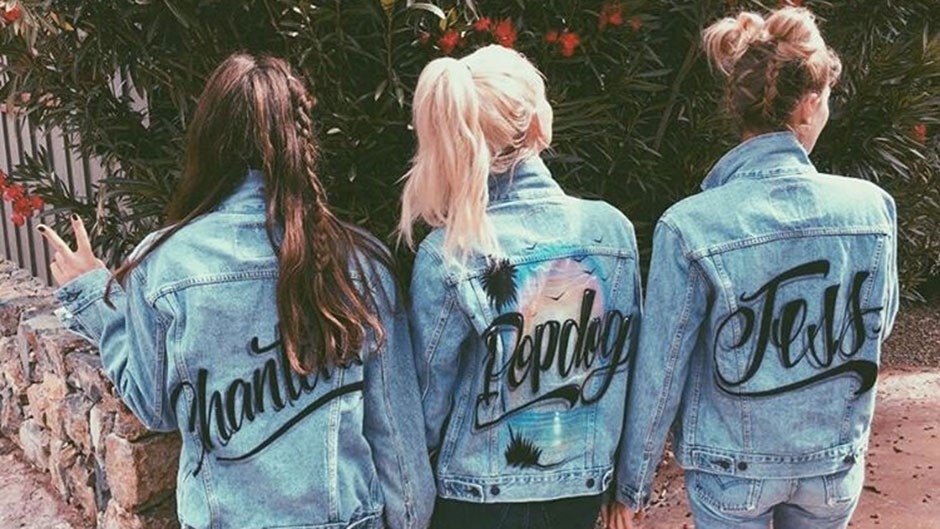 Chantelle Waters, Poppy Delevingne and Jess Hart