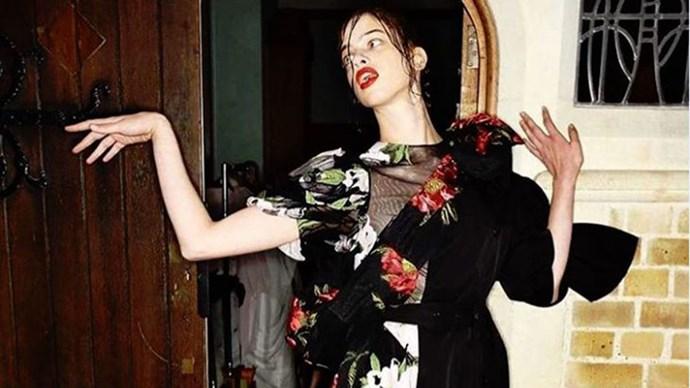half dressing fashion trend