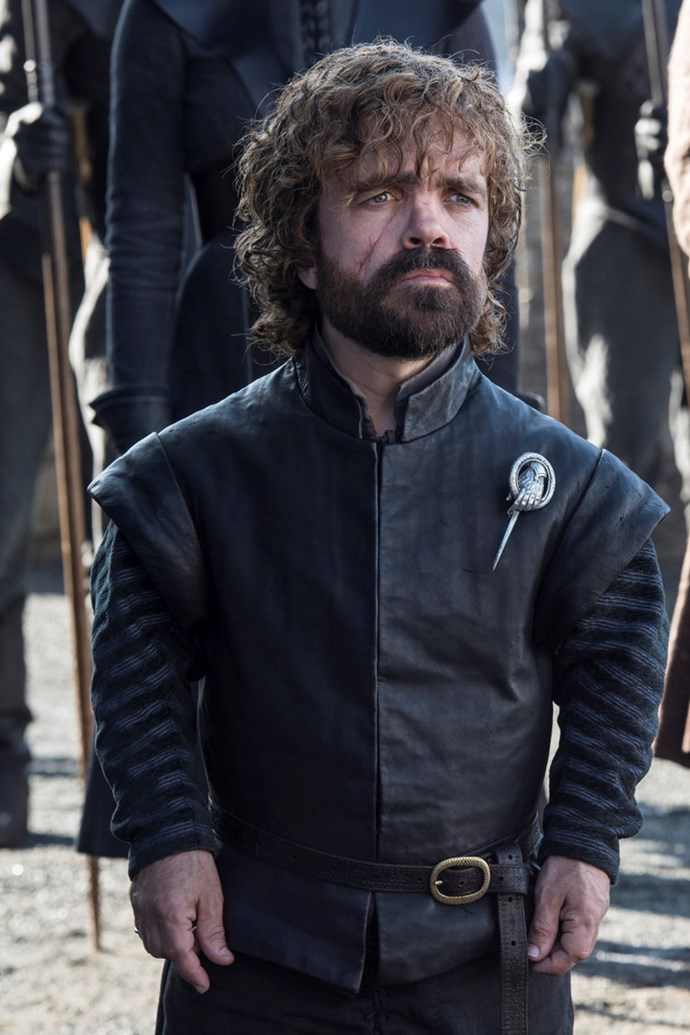 """<p>Tyrion Lannister.<p> <em>Image via <a href=""""http://www.makinggameofthrones.com/production-diary/get-look-exclusive-photos-game-of-thrones-season-7"""">HBO</a></em>."""