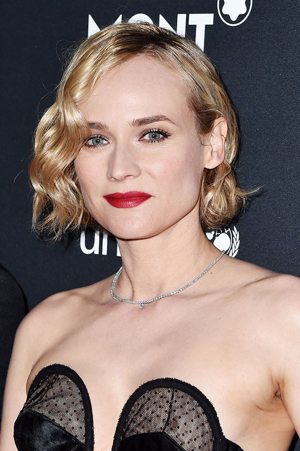 <strong>Diane Kruger</strong> <br><br> We're feeling serious Roxie Hart vibes from Diane Kruger's 20s style bob.