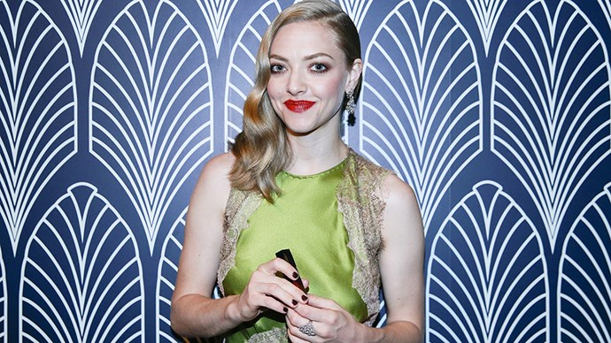 "<p><strong>Amanda Seyfried</strong><p> ""[Therapy] has been such a great tool, and my therapist told me that I passed with flying colours, but we'll see how things go."""