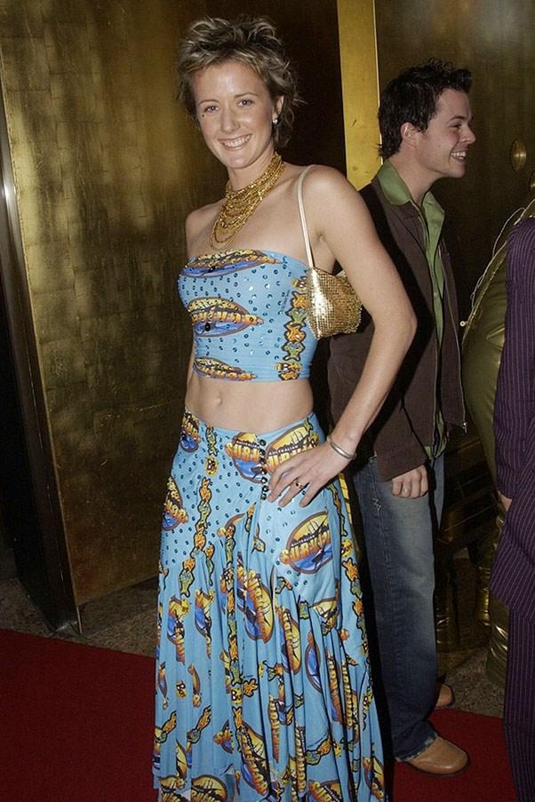 Survivor contestant Kate Gold, 2003