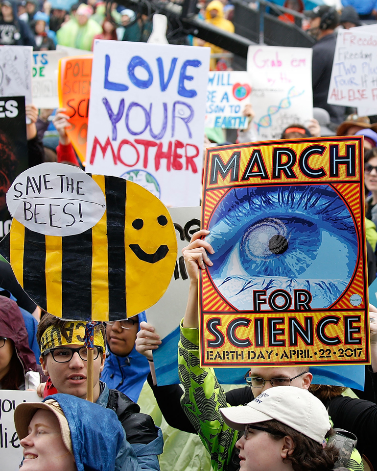 People Around The World Are Marching For Science