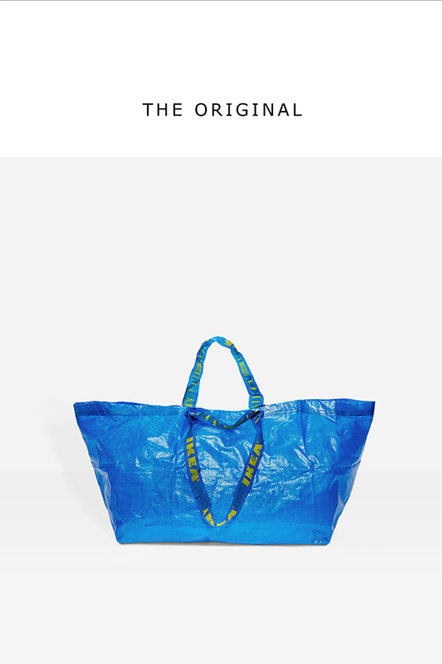 IKEA Response To Balenciaga Bag Lookalike