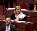 Senator Larissa Waters Casually Makes History By Breastfeeding Daughter In Parliament