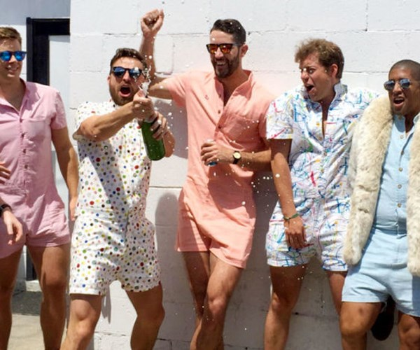 Male Rompers are now a thing
