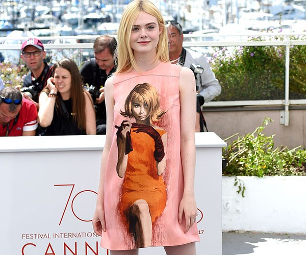 Elle Fanning Cannes Red Carpet Style