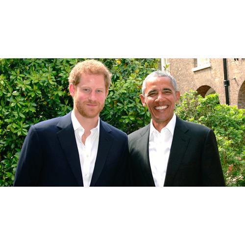Prince Harry And Barack Obama Bromance