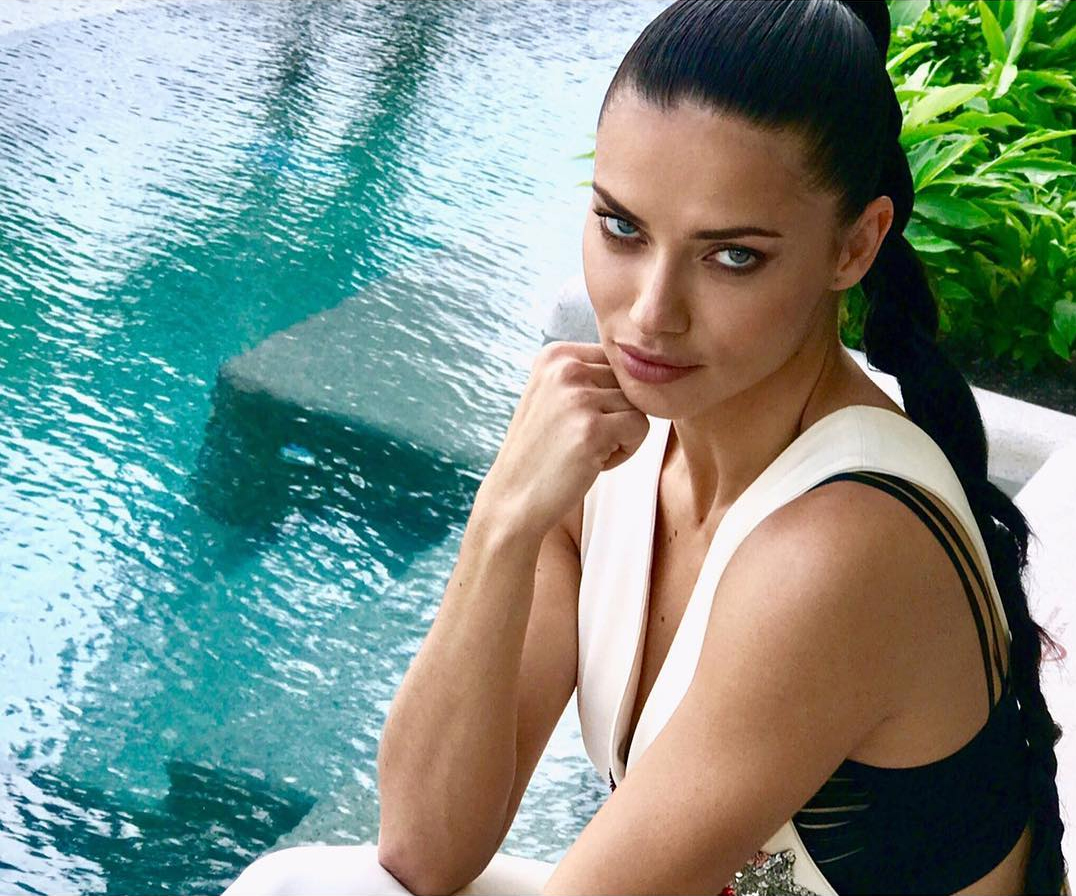 Adriana Lima Is A Champion For The People, Marries Her Damn Self