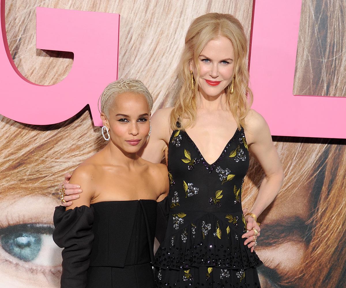 Zoe Kravitz close relationship with Nicole Kidman