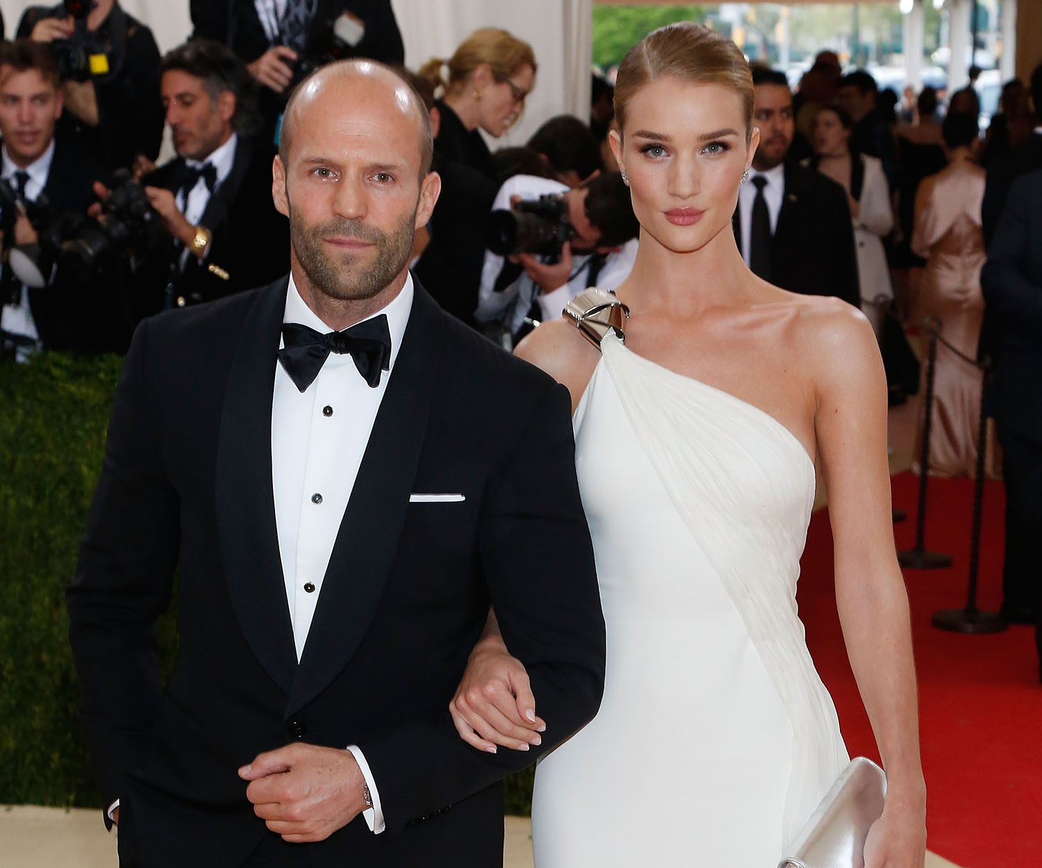 Rosie Huntington-Whiteley welcomes son with Jason Statham