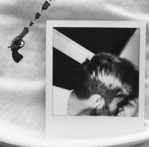 In February, Zayn posted this intimate Polaroid onInstagram.