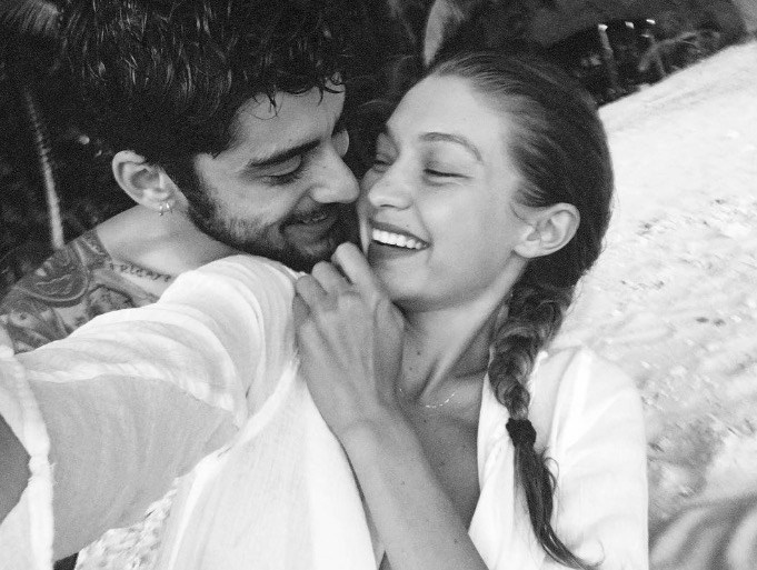 Gigi and Zayn were vacation GOALS in this picture she posted onInstagram.