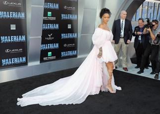 Rihanna Cara Delevingne Valerian Press Tour