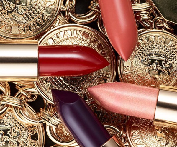 Balmain Is Teaming Up With L'Oréal For a Luxe Lipstick Collection