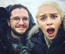 Emilia Clarke's Instagram Of Kit Harington's Dragon Impression Is The Damn Cutest