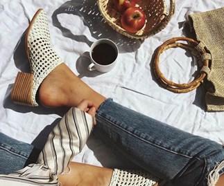 Instagram sandals shop online