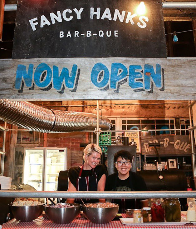 Fancy Hank's Bar-B-Que, Melbourne