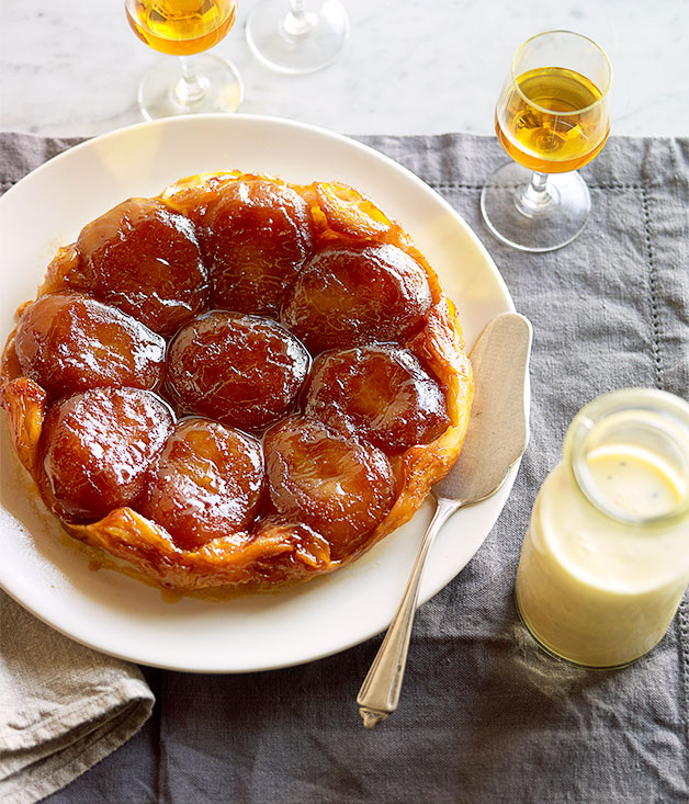 Apple tarte Tatin recipe | Baking recipe | Gourmet Traveller recipe ...