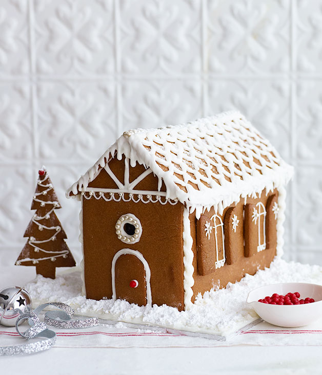 House decoration ideas christmas - Gingerbread House Recipe Christmas Baking Recipe