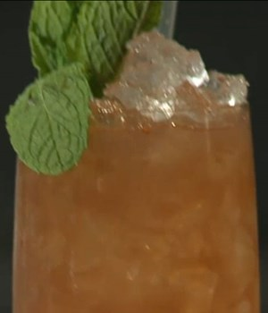 Blood-orange crush with ginger and mint syrup recipe ...
