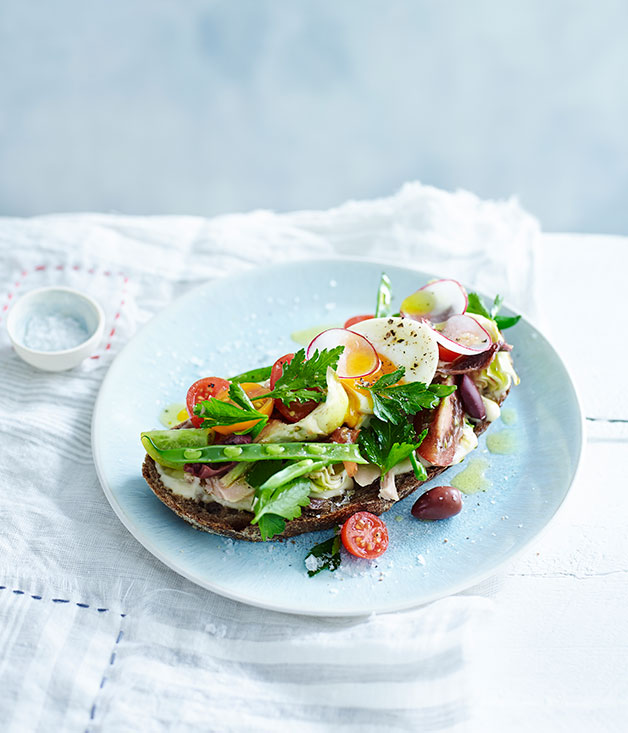 French Baby Gifts Australia : Spring tartines ni?oises recipe fast french