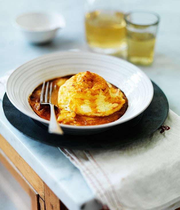 Twice baked lobster souffl s recipe gourmet traveller for French fish recipes