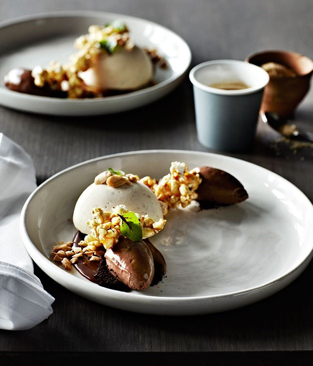 Banana dessert recipes gourmet traveller for Fine dining gourmet recipes